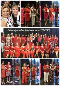 ampm varias fotos libro Grandes Mujeres cecut 2017